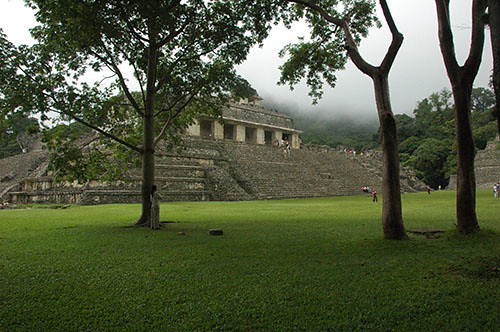 Palenque - 04 First View of Palenque