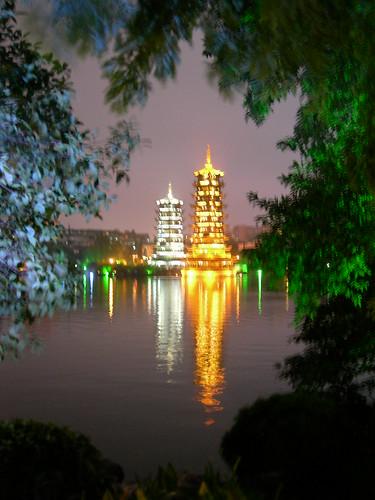 Guilin Copper Pagodas 2
