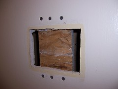 Patching a hole in the drywall - part i