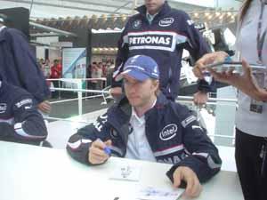 2006上海F1:Nick Heidfeld (1)