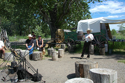 Bar U Ranch - Miriam Tells stories