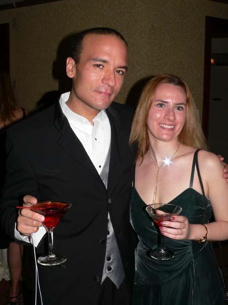 derek and i at the awards gala