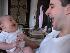 Laughing with Daddy