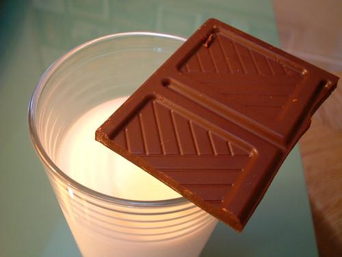 lait et chocolat