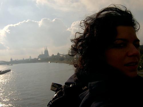 Allein am Rhein, allein:-)