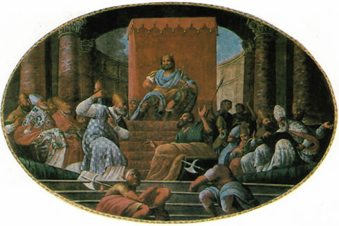 When St Nicholas Punched Out the Heretic Arius (2/2)