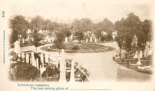 Ladywell Cemetery 1905
