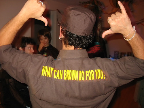 What can brown do you for?