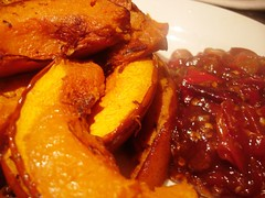 Roasted Pumpkin with Chilli Jam