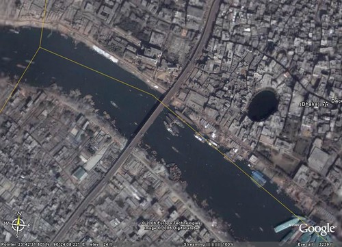 Dhaka Sits on the Buriganga