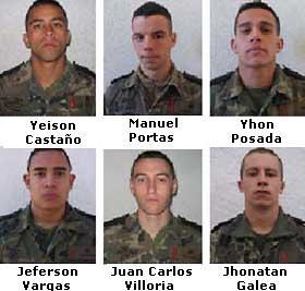 todos los fallecidos en Lbano