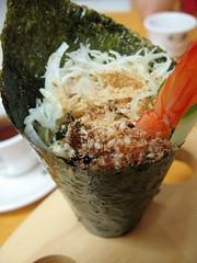 seaweed roll/ 手捲
