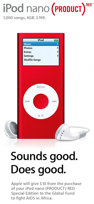 iPod-RED