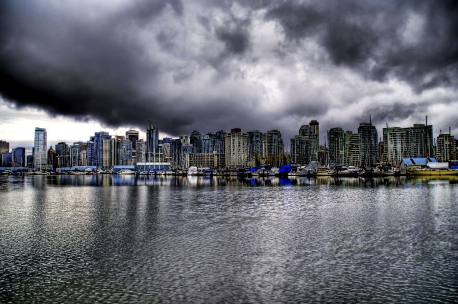 Evil Clouds Over Vancouver