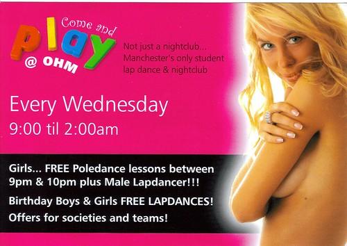 Student Lapdancing Club