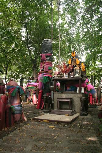 Phallus shrine