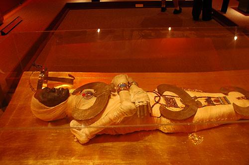Museum of the Rockies - Pharaoh Mummy