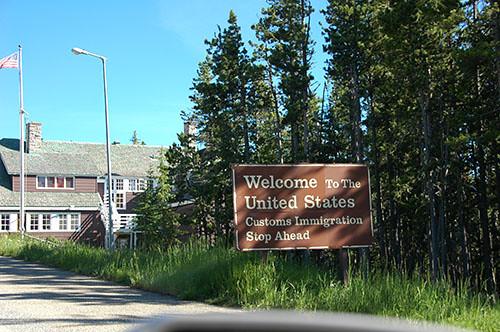 Waterton Lake - US Border