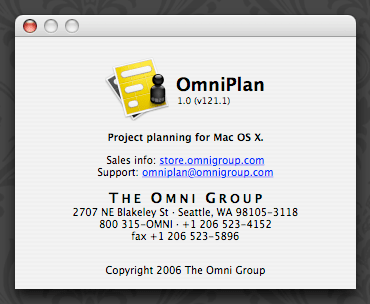 OmniPlan 1.0