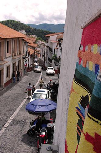 Taxco - 19 Street and Rug