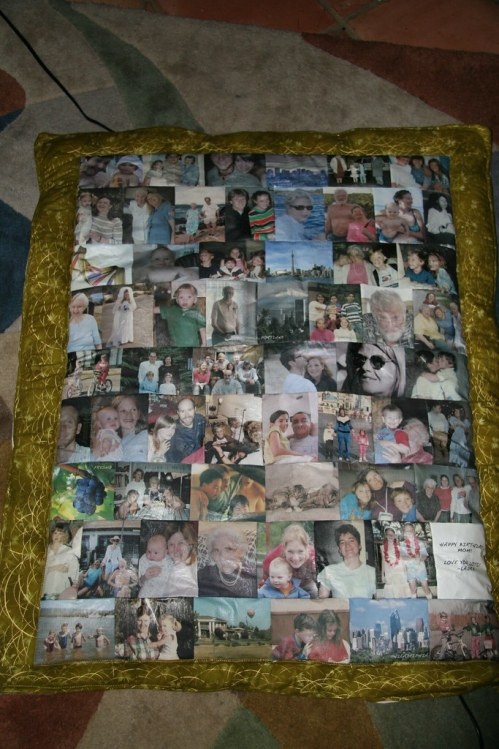 Photo Quilt Overview