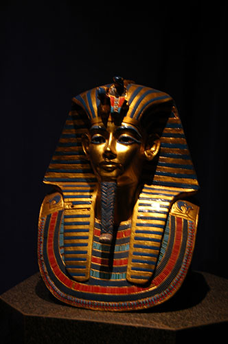 Museum of the Rockies - Pharaoh death mask