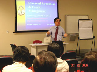 SLS event financial talk by Dennis Ng