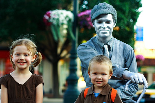 my kids meet the silver man