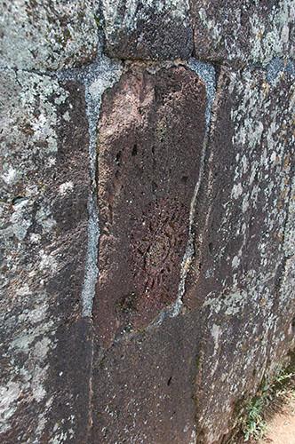Tzintzuntzan - 04 Petroglyph on Yacata