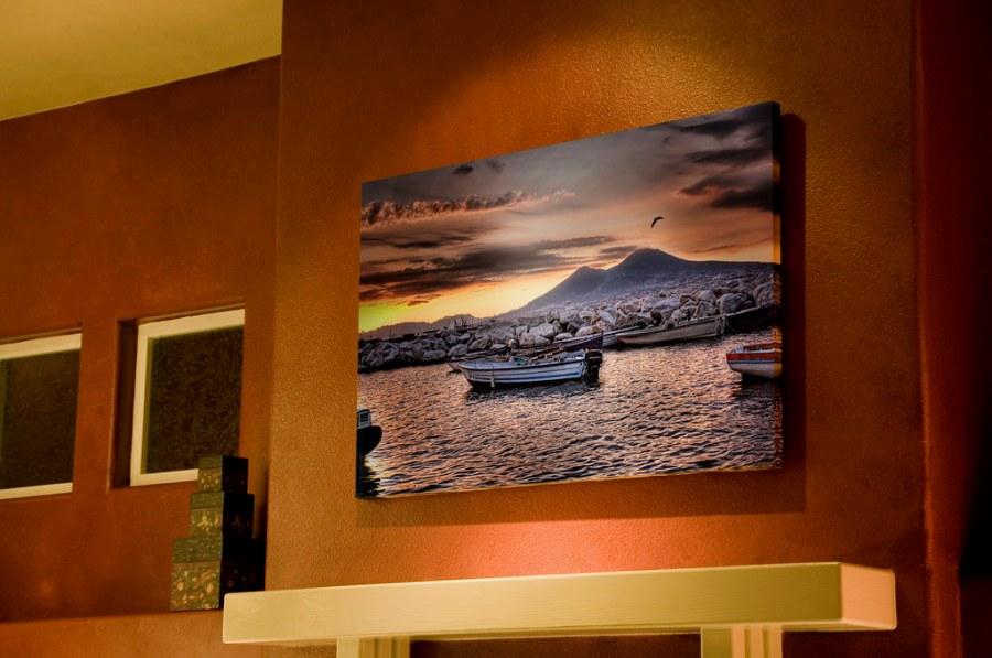 Vesuvius on the Wall