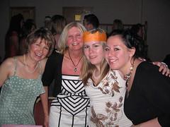 Dorothy, Theresa, Linn och Sarah