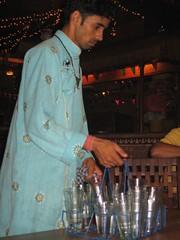 waiter at Village (by kapsi)