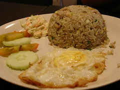 Fried Rice with Chicken & Salted Fish