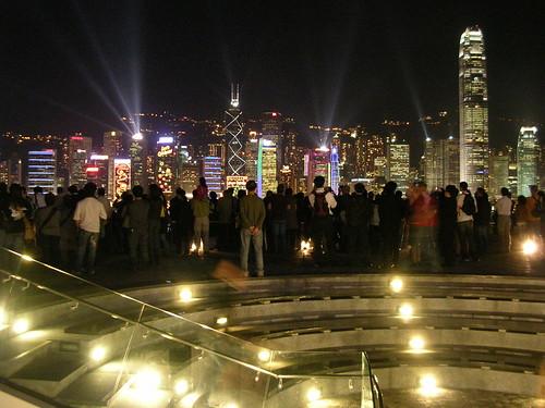 Vista desde Tsim Sha Tsui