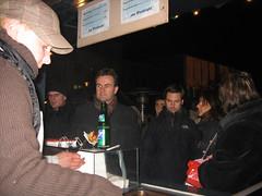 Robert, Jacky und Chris am Deggendorfer Weihnachtsmarkt