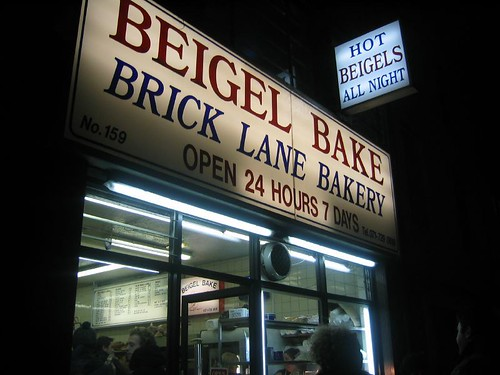 Beigels on Brick Lane