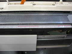 Close-Up of Knitting Machine (by Brian Sawyer)
