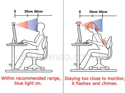 USB Vision And Posture Reminder (by joaoko)