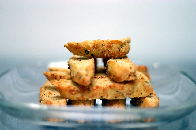 parmesan black pepper biscotti