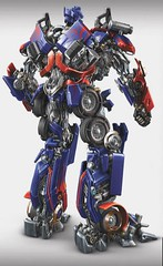 Optimus Prime (Full Shot) Back