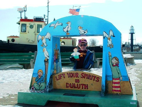 Flat Stanley in Duluth