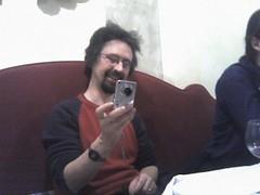 Danny at the Social Dinner