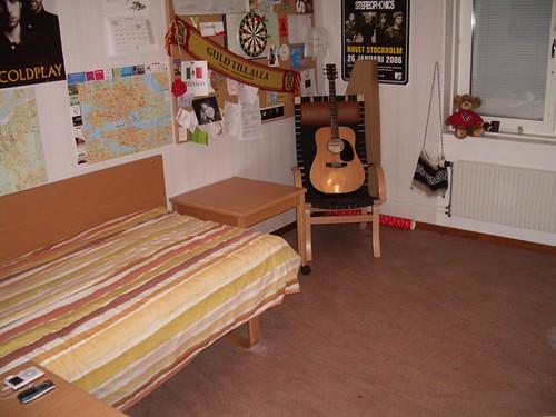 Habitación después de ordenar