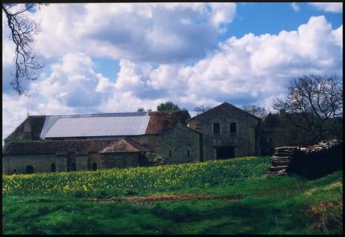 l'abbaye de l'étoile en 1998 par dana hilliot