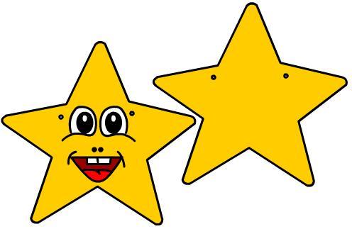 estrella 3 pintada