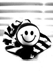 B&W Smile