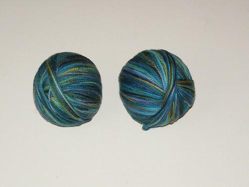 2 balls of Koigu for socks