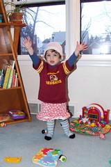2/365:  Shoshanna chose her own clothes. (by sarahmichelef)