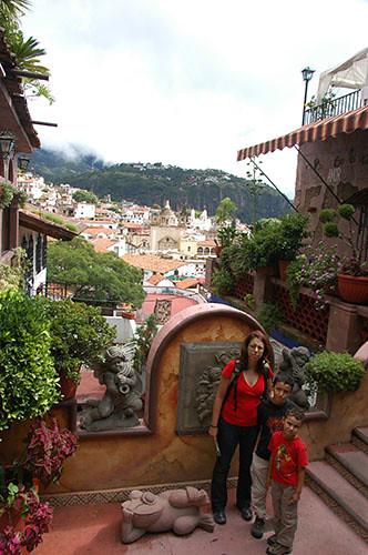 Taxco - 08 After breakfast in Angel Inn