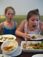 Chowing down on 'thigh' (Thai)